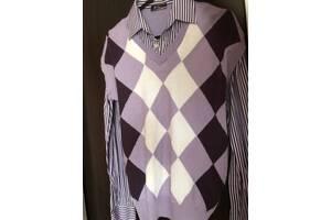 Продам мужской свитер-обманку