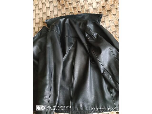 купить бу продам мужскую зимнюю куртку из телячей кожи,р-р 48-50 в Черкассах