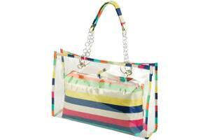 Прозрачная сумка TRAUM 7240-29, женская, из полиэстера