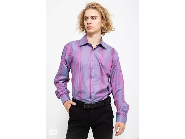 Рубашка мужская113R302 цвет Фиолетовый- объявление о продаже  в Одессе