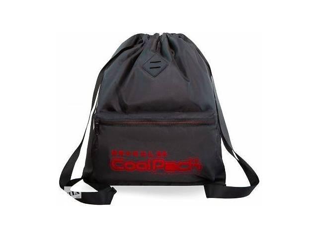 бу Рюкзак-котомка Coolpack URBAN A46116 SUPER RED 19 л, черный в Киеве