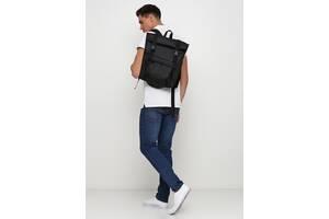 Рюкзак RollTop 0SHm чёрный