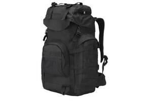Рюкзак тактический A51 черный, 50 л