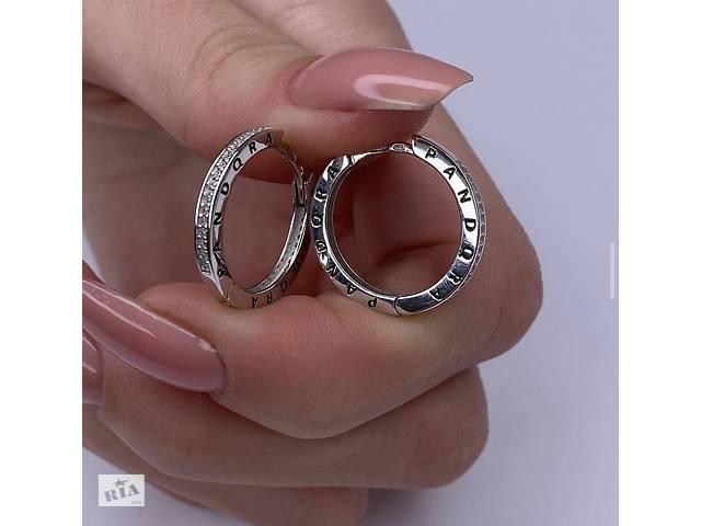 Серебряные серьги Pandora- объявление о продаже  в Днепре (Днепропетровск)