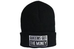 Шапка Queens get money