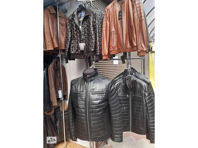 купить бу Кожаная куртка в Тернополе