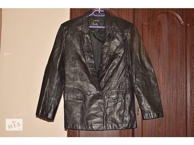 Кожаная куртка- объявление о продаже  в Теребовле