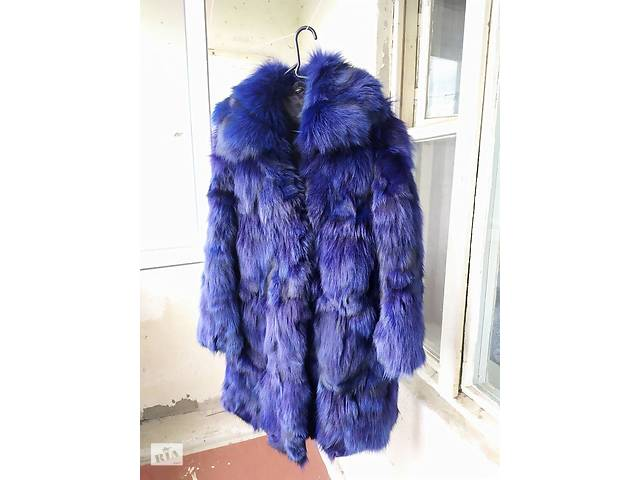 Шуба синяя- объявление о продаже  в Чернигове