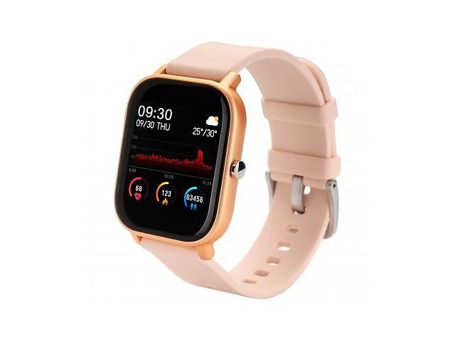 купить бу Смарт-часы Globex Smart Watch Me (Gold Rose) в Харькове