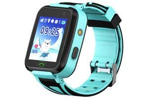 Смарт-часы GoGPS К07 Pink Детские телефон-часы с GPS трек (K07BL)