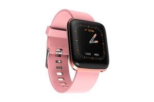 Смарт часы Ukc Smart W5 Браслет для занятий спортом Розовый