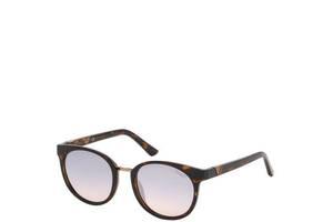 Солнцезащитные очки Guess Очки женские солнцезащитные с градуированными зеркальными линзами GUESS  PGU7601-52U52
