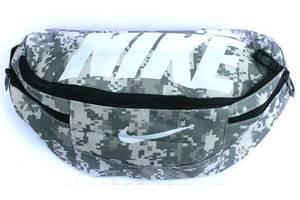 Спортивная сумка на пояс Nike Team Training 147, камуфляж, реплика