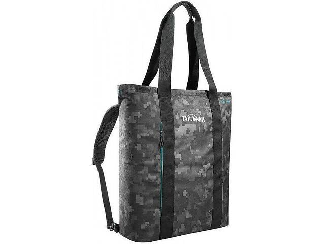 купить бу Спортивная сумка-рюкзак Tatonka Grip bag черная на 22л в Киеве