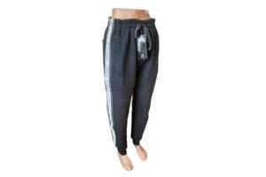 Спортивные штаны мужские на байке манжет р.46,48,50,52,54.Цвет чёрный серый синий.От 5шт по 144грн