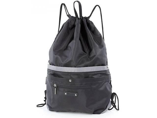 бу Спортивный рюкзак-мешок Dolly 844 черный на 16л в Киеве