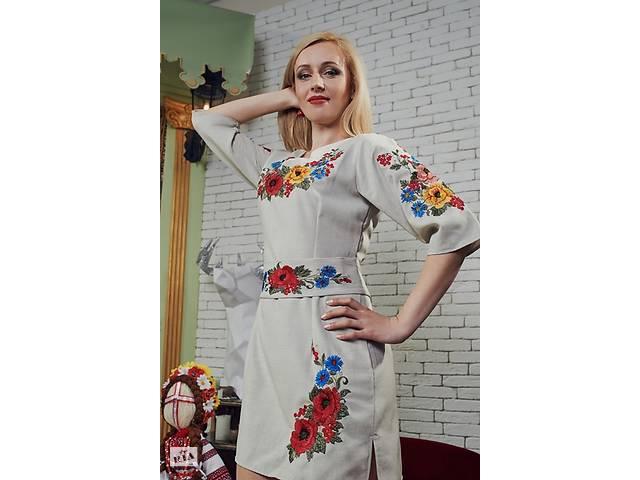 Стильні вишиті плаття - Жіночий одяг в Коломиї на RIA.com feb5919cbe82a