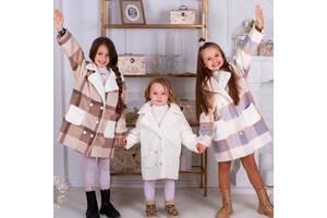Стильное пальтишко осень весна для девочек