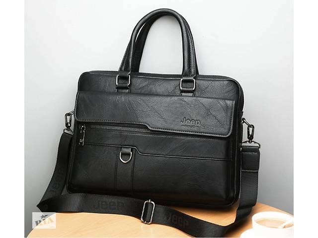 продам Стильный мужской деловой портфель для документов формат А4 мужская сумка для планшета ноутбука бу в Днепре (Днепропетровск)