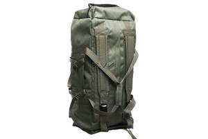 Сумка - рюкзак Scout-80 Дорожная (Олива)
