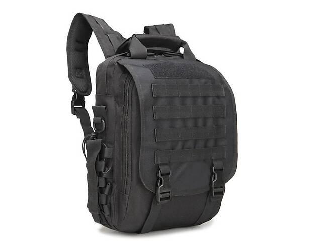 Сумка-рюкзак тактическая TacticBag A28 Черный 30 л (gr_009363)- объявление о продаже  в Киеве