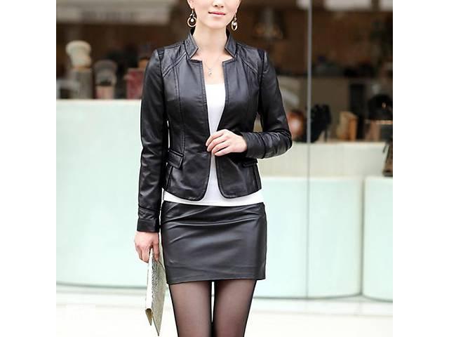 бу Супер модная мини-юбка под кожу, универсальный размер (S/M/L) Новые! в Тернополі