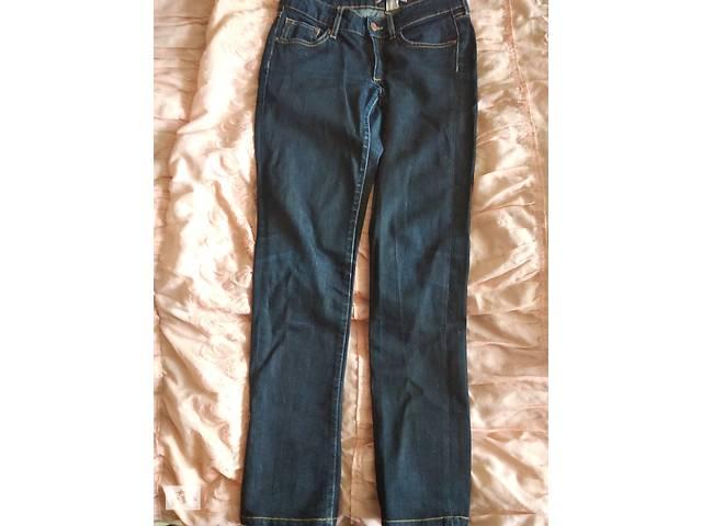 Темно-синие джинсы 27 размер- объявление о продаже  в Мукачево