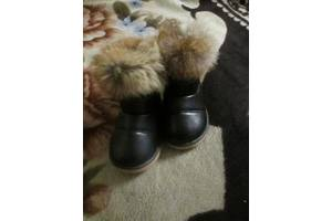 Теплые ботиночки 24 размера