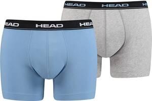 Трусы-шорты HEAD Basic Boxer 2P 841001001-168 M 2 шт (8718824641447)
