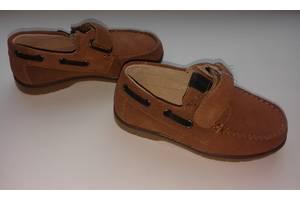 Туфли мокасины на мальчика натуральная замша р. 26-31 тм солнце