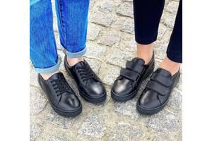 Туфли мокасины из натуральной кожи 32-45р