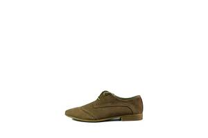 Туфлі чоловічі MIDA 13308-11 кави нубук (44)