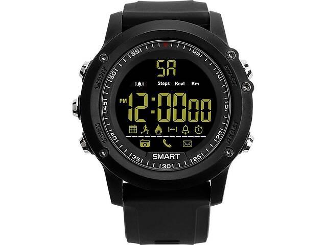 купить бу Умные часы Smart Watch EX17 Черный (gr_011013) в Киеве