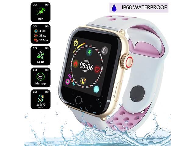 бу Умные наручные смарт часы Lemex Smart Watch Z7 Pro Fit с шагомером, пульсометром, тонометром, спортивные в Одессе