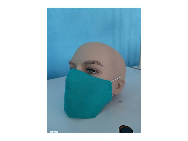 купить бу Защитная маска льняное  в Украине