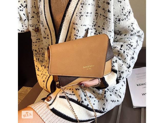 купить бу Замшевая сумка клатч оригинального дизайна в Хмельницком