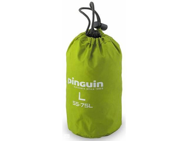 купить бу Защитный чехол для рюкзака Pinguin Raincover зеленый на 100л в Киеве