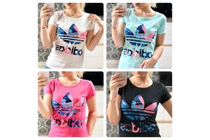 Нові Жіночі футболки, майки, топи Adidas
