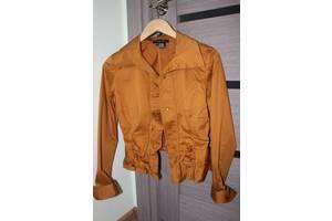 Женская рубашка горчичного цвета Etcetera