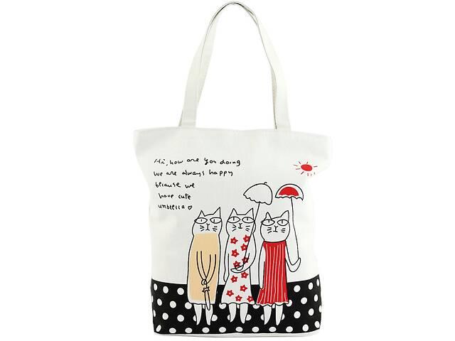 купить бу Женская сумка из текстиля Traum 7011-13 белый в Киеве