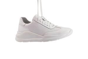 Жіночі кросівки шкіряні весна/осінь білі Brand 040-б