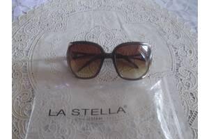 Женские солнцезащитные очки la stella, коричневые