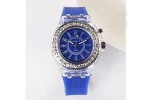 Женские светящиеся часы Синий
