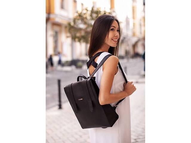 купить бу Женский кожаный черный рюкзак Blackwood BlnkntBN-BAG-29-bw в Киеве