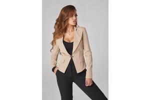 Женский однотонный пиджак. Разные цвета и размеры