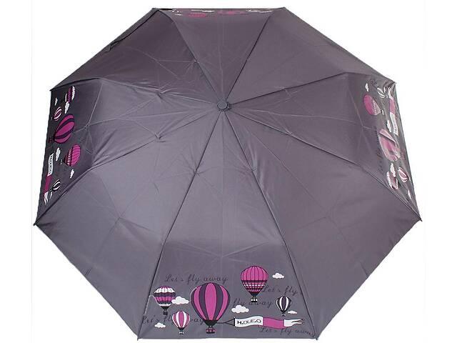 Женский зонт полуавтомат H Due O серый- объявление о продаже  в Киеве