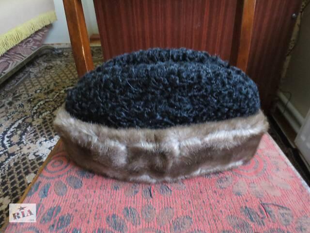 Зимова чоловіча шапка (каракуль з норки))- объявление о продаже  в Тернополе