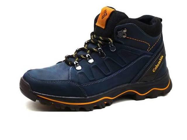 купить бу Акция! Columbia Blue model 122 / 2  -  зимние кожаные ботинки на меху в Вознесенске