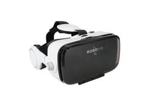 3D очки виртуальной реальности Kronos VR Box Z4 с наушниками и пультом White (par_z4)