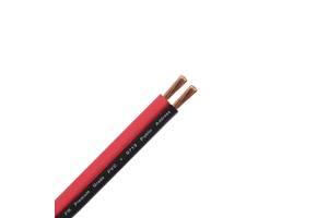Акустический кабель Dialan 2х0.75 ССА чёрно-красный